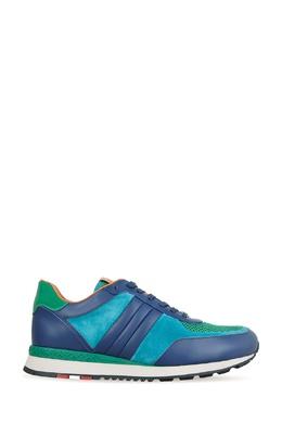 Синие комбинированные кроссовки Bally 2246182558