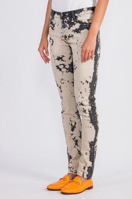 Облегающие джинсы с вышивкой Gucci 470182576