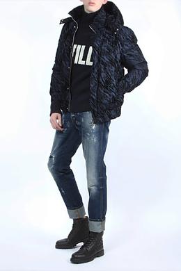 Синие джинсы с потертостями Dolce&Gabbana 599182497