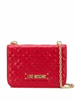 Love Moschino quilted flap shoulder bag JC4000PP1ALA0UNI
