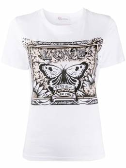 Red Valentino printed T-shirt TR3MG05K4Y2