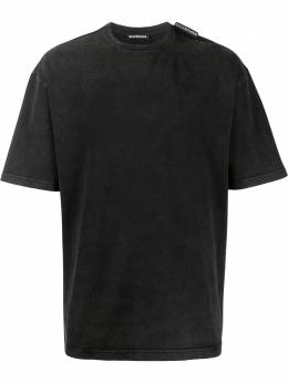 Balenciaga Regular logo tag T-shirt 578139TAV04