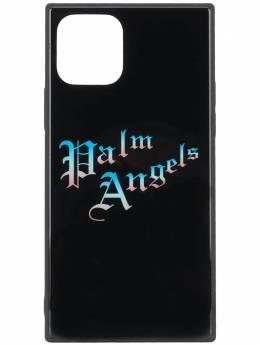 Palm Angels logo print iPhone 11 case PMPA020S207900341088