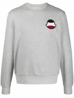 Moncler logo patch sweatshirt 8G708008098U