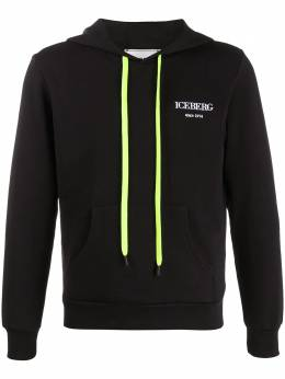 Iceberg embroidered logo relaxed-fit hoodie E02063309000