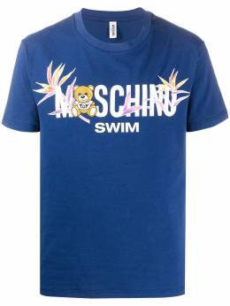 Moschino Swim logo T-shirt V19092303