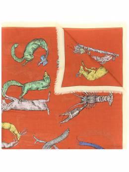 Loewe Alphabet print scarf 91010168
