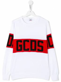 GCDS Kids TEEN band logo jumper 022506
