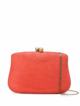 Serpui braided-straw shoulder bag SRP9448
