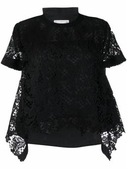 Sacai sheer sleeve T-shirt 2004939
