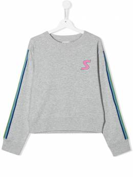 Stella McCartney Kids TEEN S patch sweatshirt 588683SOJ42