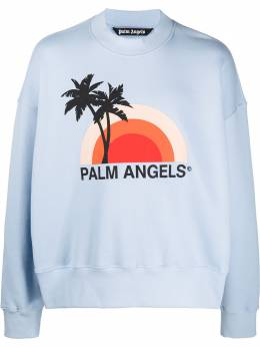 Palm Angels graphic print sweatshirt PMBA026S206310163188
