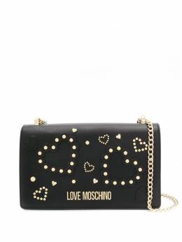 Love Moschino studded-heart shoulder bag JC4034PP1ALE0