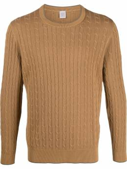 Eleventy cable knit jumper A76MAG03MAG0A009