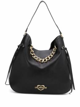 Love Moschino heart-chain hobo tote JC4041PP1ALF0