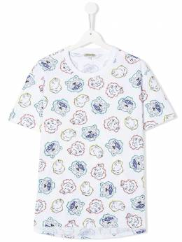 Kenzo Kids all-over Tiger T-shirt KQ10698