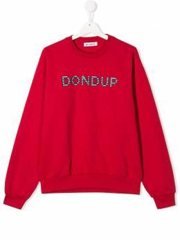 Dondup Kids толстовка с логотипом BF047FE144XXXBDT