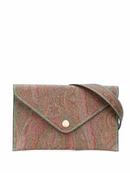 Etro поясная сумка с принтом пейсли 1I4638707