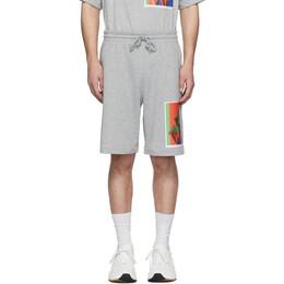 Dries Van Noten SSENSE Exclusive Grey Mika Ninagawa Edition Habda Shorts 21101-9613-813