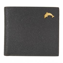 Thom Browne Black Dolphin Billfold Wallet MAW181A-00198