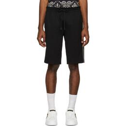 Dolce&Gabbana Black Cavallerry Bermuda Shorts GYZDAT FURIS
