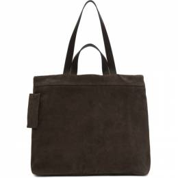 Marsell Brown Suede Tote MB0341