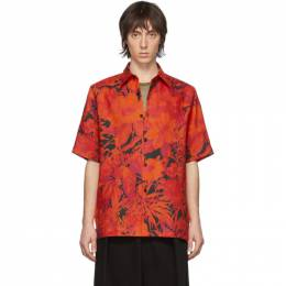 Dries Van Noten Red Floral Hadler Polo 20734-9075-352