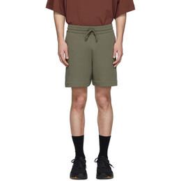 Dries Van Noten Khaki Hestala Lounge Shorts 21150-9615-606