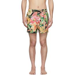 Dries Van Noten Multicolor Phibbs Floral Swim Shorts 22500-9235-604