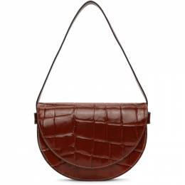 Staud Red Croc Amal Bag 180-9203-COG