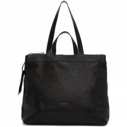 Marsell Black Leather Tote MB0341