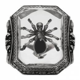 Alexander McQueen Silver Spider Ring 611304I12RY