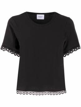 Dondup embroidered D-logo T-shirt S833JS0241D032DD