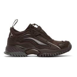 Random Identities Brown Li-Ning Edition Aurora Skywalker Sneakers AGCP319-4K