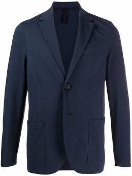 Harris Wharf London фактурный пиджак C8P22PYW