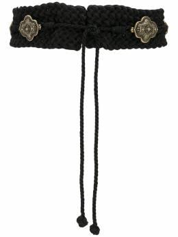 Etro orante-plaque braided waist belt 1N1052268