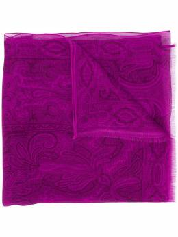 Etro paisley-print silk scarf 100075618