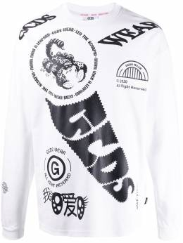 Gcds graphic long-sleeve T-shirt SS20M020065