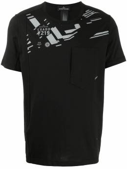 Stone Island Shadow Project geometric print T-shirt MO721920610