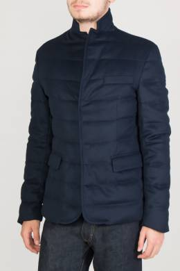 Синяя стеганая куртка Colombo 2375183669