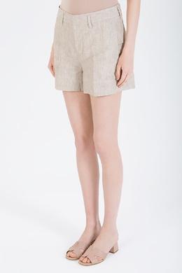 Бежевые мини-шорты с карманами Malo 730183748