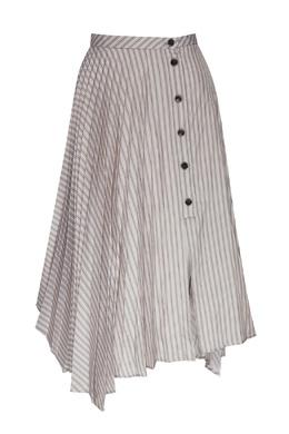 Ассиметричная плиссированная юбка Acne Studios 876182842