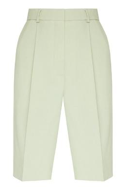 Шорты со стрелками бледно-зеленого цвета Acne Studios 876182854