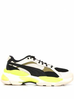 Puma panelled sneakers 371909