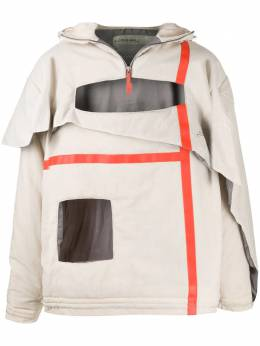 A-Cold-Wall* cut-out detail jacket ACWMF19HND01