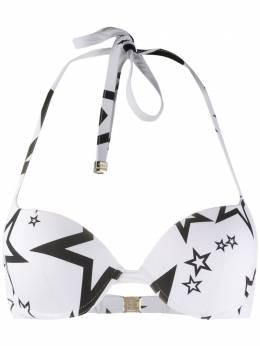 Dolce&Gabbana лиф бикини с принтом O1A30JFSGRT