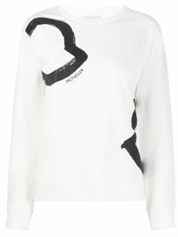 Moncler printed details sweatshirt 8G70510V8036