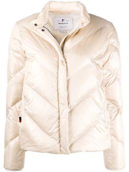 Woolrich zipped padded jacket WWOU0236FRUT1917