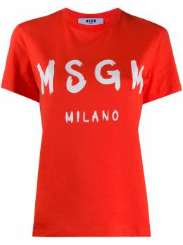 MSGM футболка с логотипом 2841MDM60207298