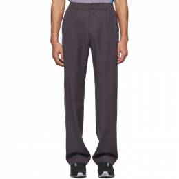 Keenkee Purple Relaxed Trousers SS20WP11-RLX-3